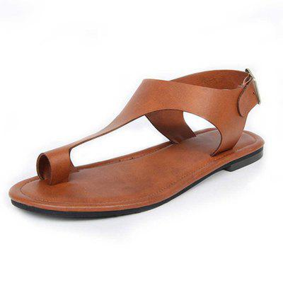 Flat-Heeled Beach Sandals with Toes in Summer (Gearbest) Raleigh Purchase and sale of goods