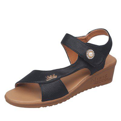 Little Slope and Drill Pearl Sandals 1-7
