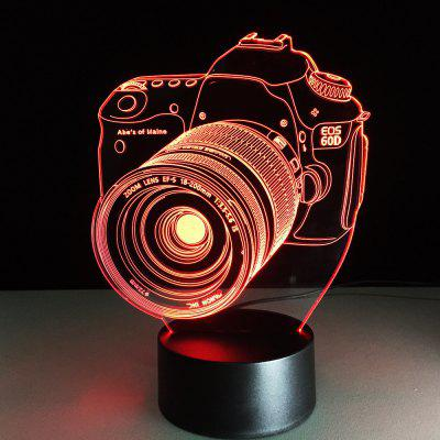 YEDUO Camera 3D USB Night Lights For Children Color-Changing