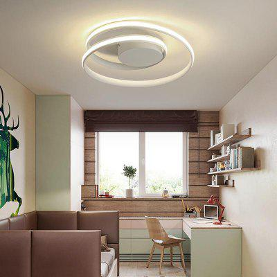 Modern Minimalist Double-deck Ceiling Lamp 110-120V for Bedroom