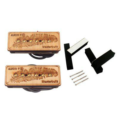 Chitarra Parts Master Built P90 Alnico V Soap Bar Pickup