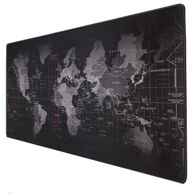 World Map Anti-slip Gaming Mousepad Large Mouse Pad