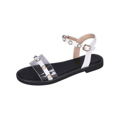 Fashion Flat Rivet Women Sandals (Gearbest) Albuquerque Purchase and sale of goods