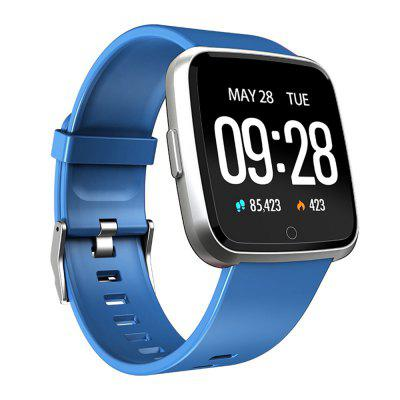 Y7 Smart Watch Bracelet Heart Rate Monitoring Blood Oxygen Blood Sport Image