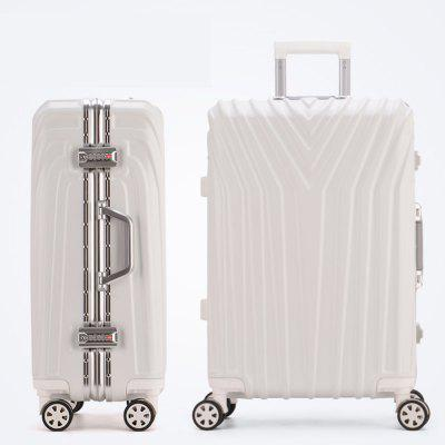 TUGUAN New Fashion Aluminum Frame Rod Suitcase 20/22/24/26/29 Inches