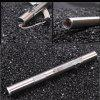 USB Stainless Steel Mini Charging Flashlight - SILVER