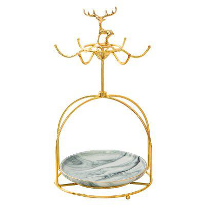 European Jewelry Cosmetics Key Storage Display Rack
