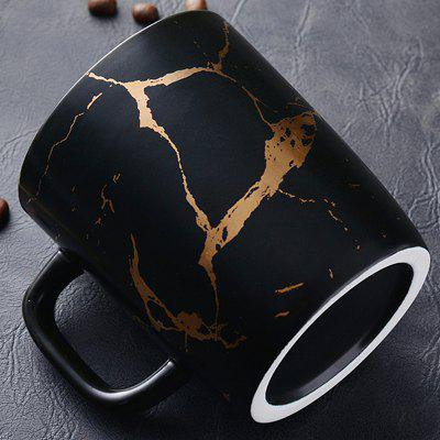 Nordic Ceramic Marbling Lovers Coffee Milk Juice Mug