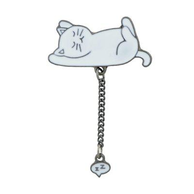 Bunte Emaille Cat Pig Elephant Brosche