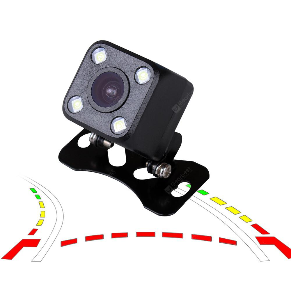 1X HD Dynamic trajectory Car Rearview Camera Rear view Cam Back Up Parking Line