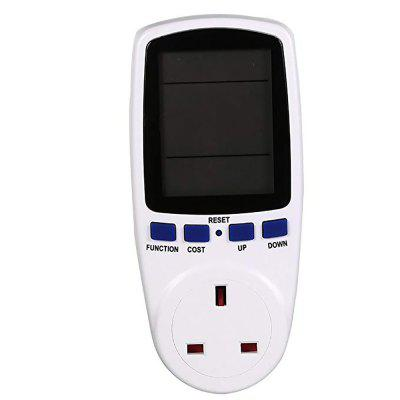 LCD Display Digital Power Metering Socket