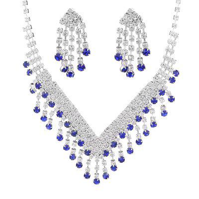 FEIS Fashion Jewelry Personality Tassels Necklace Set