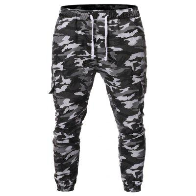 Camouflage Series Men Casual Loose Work Freizeithose