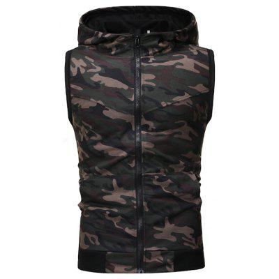 Men Classic Sports and Leisure Fashion Camouflage Hoodie
