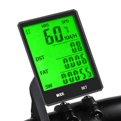Large Screen Bicycle Wireless Code Table Cycling Measurable Mileage Speedometer