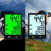 Large Screen Bicycle Wireless Code Table Cycling Measurable Mileage Speedometer - BLACK