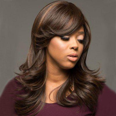 Fluffy Big Wave Partial Distribution Type Wig