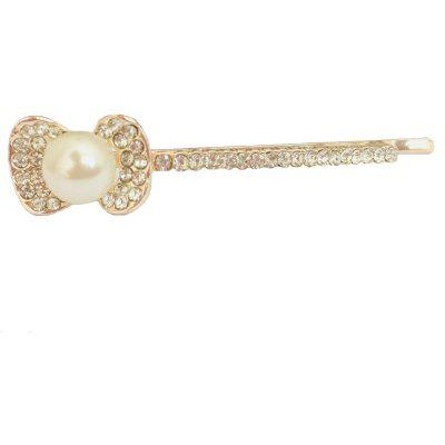 New Style Fashionable Temperament Lady Can Match Diamond Bowknot Hair Clip