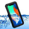 IP68 Waterproof Protective Diving Phone Case for iPhone X/iPhone XS - BLACK