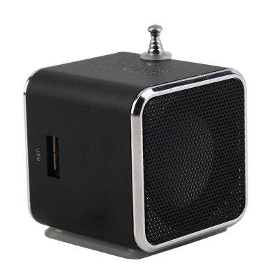 SD TF-kaart Micro USB Stereo Super Bass Speaker MP3 / 4 muziekspeler FM-radio