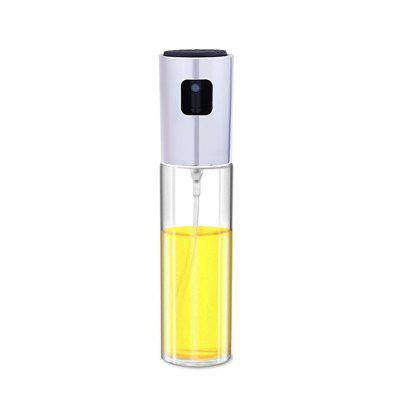 Kitchen Baking Glass Olive Oil Spray Bottle Vinegar Oil Sprayer Seasoning Bottle