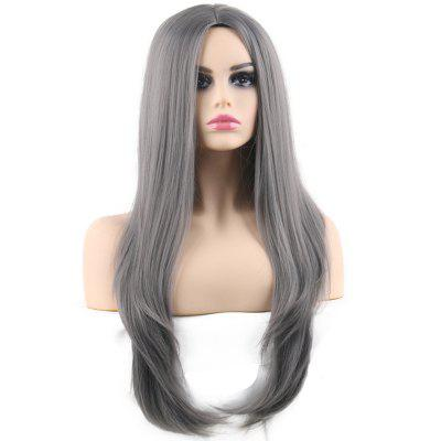 Cosplay Wave Central Parting Hair Style Long Wig