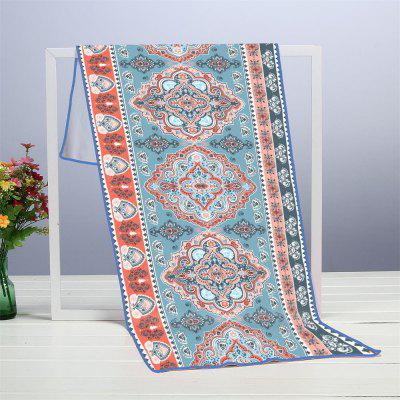 Indian Pattern Microfiber Digitally Printed Rectangular Beach Towel