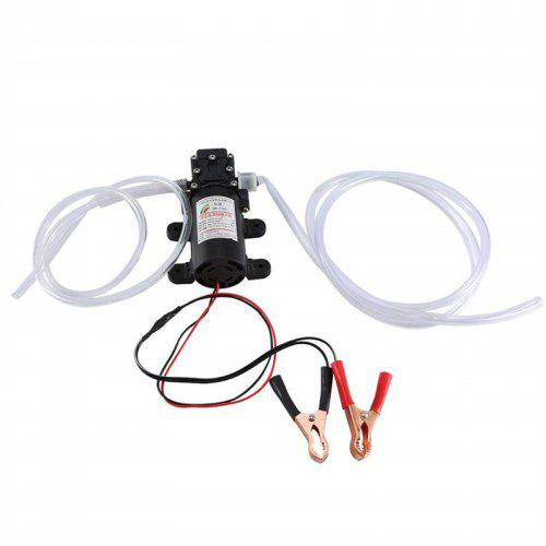 Hspan Professional Electric Oil Pump Suction Transfer Pump with Tubes for Auto Car Boat