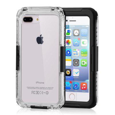 Funda protectora de teléfono impermeable para buceo IP68 para iPhone 7 Plus / iPhone 8 Plus