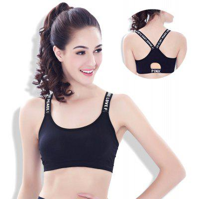 Sport Bra for Young Women Comfortable Gym Fitness Bra