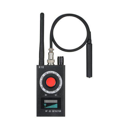 K18 Camera GSM Audio Bug Finder Wireless GPS Signal Lens RF Tracker Detector
