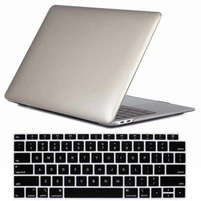 Mrnorthjoe Crystal Case + Capa de teclado para Macbook Air 13 polegadas 2018 - A1932
