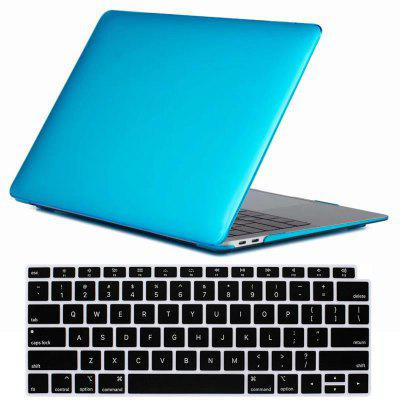 Mrnorthjoe Crystal Case + Keyboard Cover voor Macbook Air 13 Inch 2018 - A1932