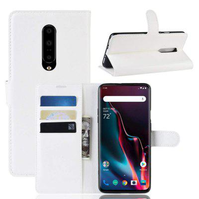 Wallet Card Slot PU Leather Stand Flip Phone Case for OnePlus 7 Pro