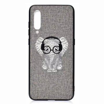 Embroidery  Soft TPU Phone Case for  Xiaomi Mi 9