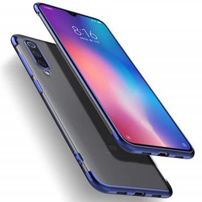 Slim Shock Clear TPU Plating Phone Case for Xiaomi Mi 9