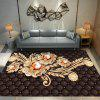 European Carpet Bedroom Sitting Room Bedside Thick Blanket Contracted Tea Table - MULTI