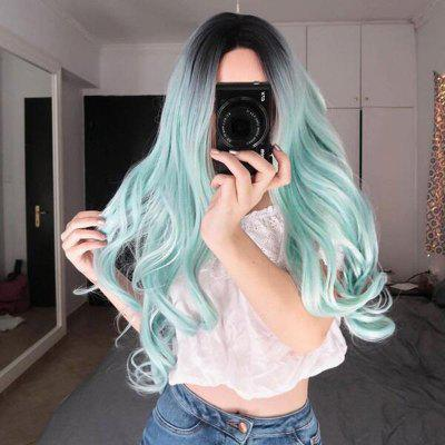 Cosplay Big Wave Partial Distribution Type Colorful Long Wig