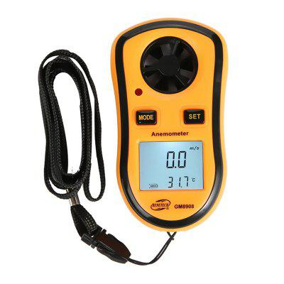 LCD Digital Wind Speed Measure Gauge Anemometer
