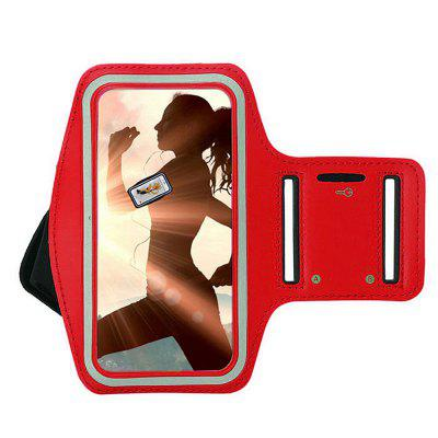 Minismile Running Waterproof Sports Phone Armband Strap Case Bag for Redmi 7