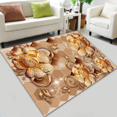 Diamond Rose Digital Print Carpet Environmental Protection Living Room Carpet
