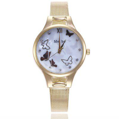 Woman Casual Quartz Butterfly Watch