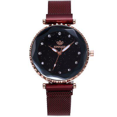Women Luxury Simple Starry Sky Quartz Watches
