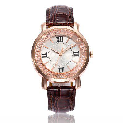 Women Dress Crystal Diamond Quartz Watches