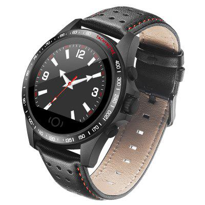 Men's Watches Bluetooth 4.0 Smart Watch Ultra Thin Mesh Belt Stainless Steel Wristwatch 1.22inch Ips Screen 300mah Battery Heart Rate Sensor Orders Are Welcome.