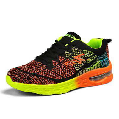 Couple Air Mesh Casual Shoes Slip Resistant Running Shoes