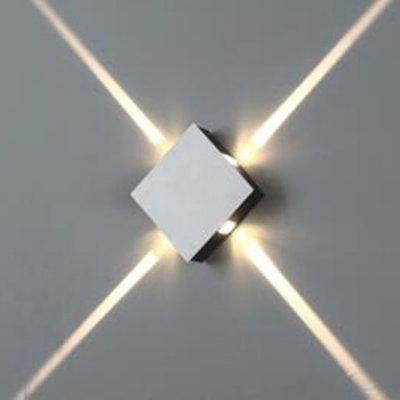 12W LED Square Decoration Wall Lamp Spotlight for Aisle Bedside Living Room