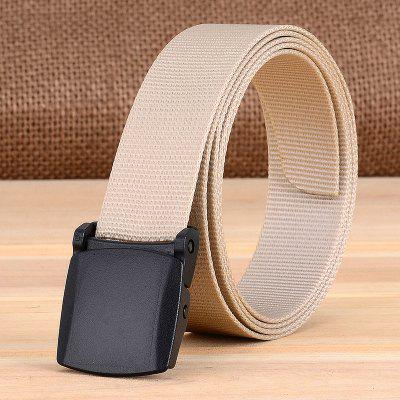 Man And Women Outdoor Plastic Buckle 2.5CM Light Weight Fast Dry Belt