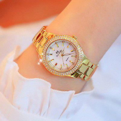 Luxury Lady Crystal Fashion Rose Gold Quartz Watches