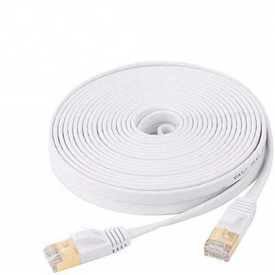 Ethernet Cable CAT7 Network Cable Flat Cable Patch Cord 30M